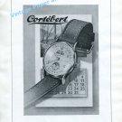 1948 Cortebert Watch Company Switzerland Cortebert Sport Vintage Swiss Print Ad