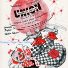 1956 Union Roller Skates Ad Be Happy As A Clown Circus Union Hardware Company 1950s Print Ad Advert