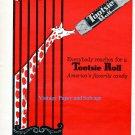 1956 Tootsie Roll Circus Giraffe Everybody Reaches for a Tootsie Roll 1950s Print Ad Advert