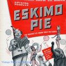 1956 Eskimo Pie Ice Cream Circus Treat Clowns Elephants Ringling Bros 1950s Print Ad Advert