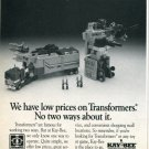 1988 Ad Hasbro Transformers Kay-Bee Stores Magazine Advertisement Toy Store Advert