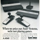 1988 Atari Systems Advert Kay-Bee Toy Store Ad Magazine Advertisement