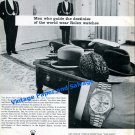 1976 Rolex Men Who Guide the Destinies of the World Wear Rolex Watches Swiss Ad