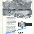 1965 Technos Star Chief Watch Advert Gunzinger Bros Switzerland Swiss Print Ad