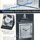 1965 Luxor Clock Company Tempodate Airmail Pagoda Clock Advert Swiss Print Ad