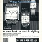 1965 Girard-Perregaux Damier Watch Advert A New Look in Styling Swiss Print Ad