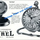1965 Ernest Borel Watch Company Switzerland Swiss Print Ad Advert Versailles