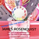 James Rosenquist Hole in the Middle of Time Art Exhibition Ad Advert