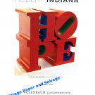 Robert Indiana Hope 2010 Art Exhibition Ad Advert Magazine Advertisement