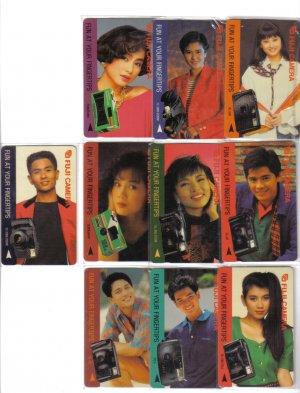 TCS Actor & Actress (mint) Phonecard