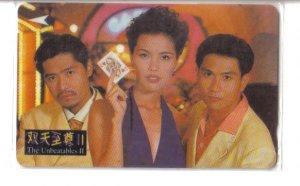 """TCS serial """"Gambler"""" (mint) phonecard"""