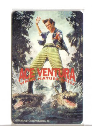 Ace Ventura Limited Edition Movie Value Card