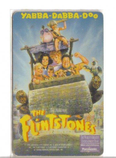 Flintstone Limited Edition Movie Value Card