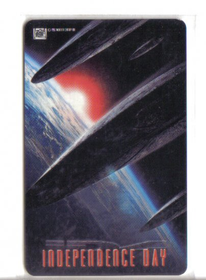 Independence Day Limited Edition Movie Value Card