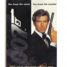 James Bond Limited Edition Movie Value Card