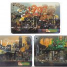 Hong kong hanover Phonecard (mint) set of 3. Limited Edition