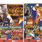 coke (mint) Transport card - Limited Edition. Set of 4