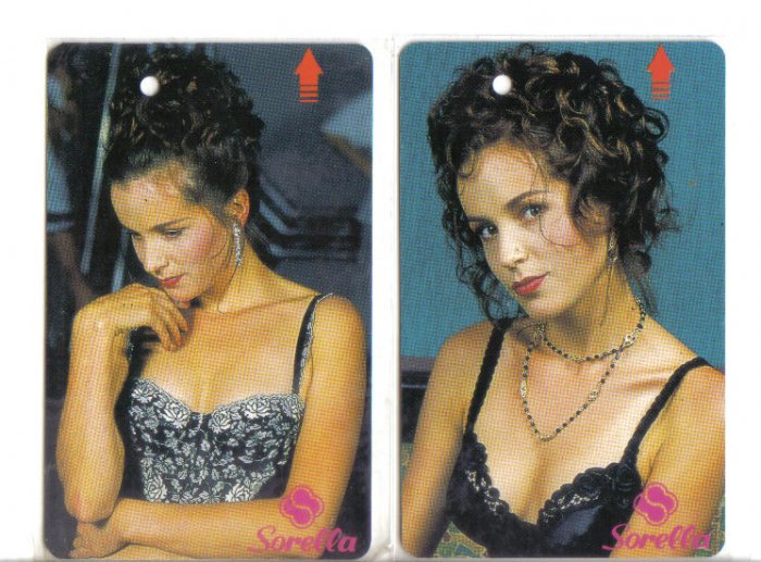 Sorella Bra (mint) Transport card- Limited edition. Set of 2