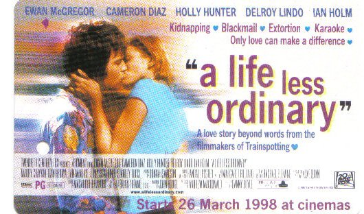 Life less Ordinary (rare) Limited Edition Transport card