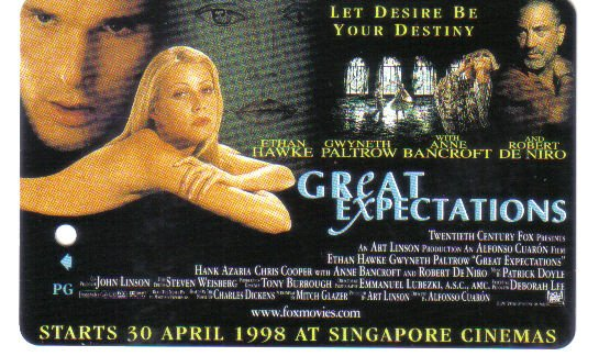 Great Expectation (rare) Limited Edition Transport card