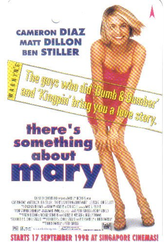 There's Something About Mary (rare) Limited Edition Transport card