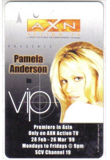 Pamela Anderson (rare) Limited Edition Transport card
