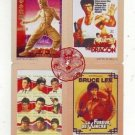 Bruce Lee phonecard set 4 (4 pcs)