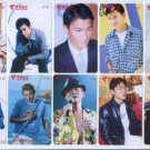 Andy Lau phonecard set 2 (10 pcs)