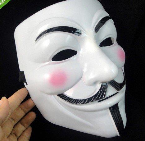 V For Vendetta Mask 100pcs