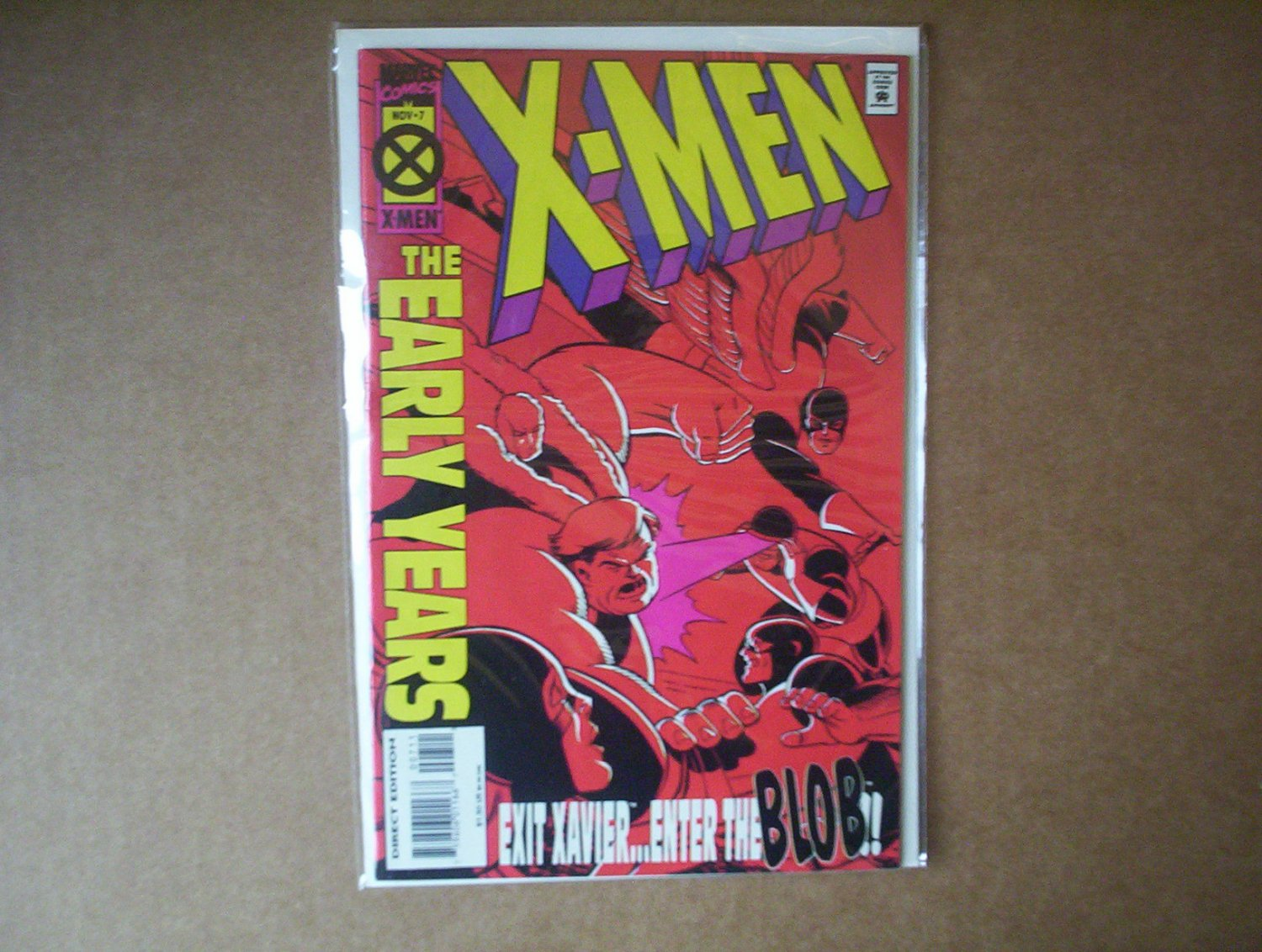 """X-Men """"The Early Years"""" #7"""
