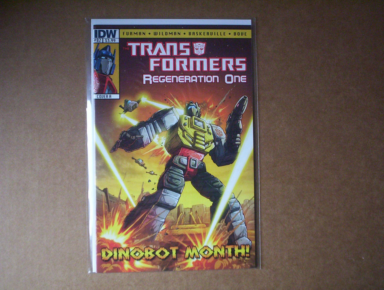 Transformers Regeneration One #82 Cover A