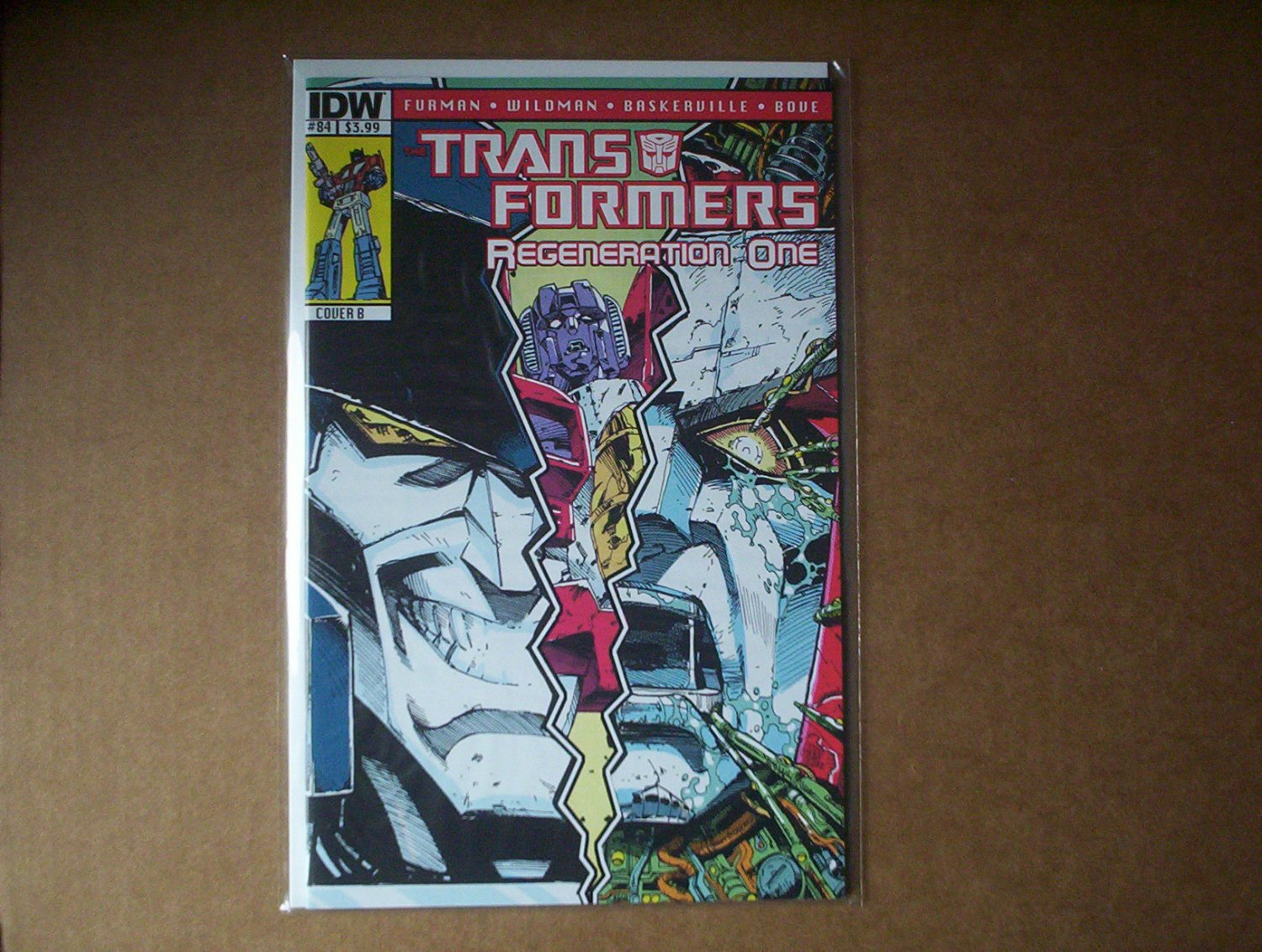 Transformers: Regeneration One #84 Cover B