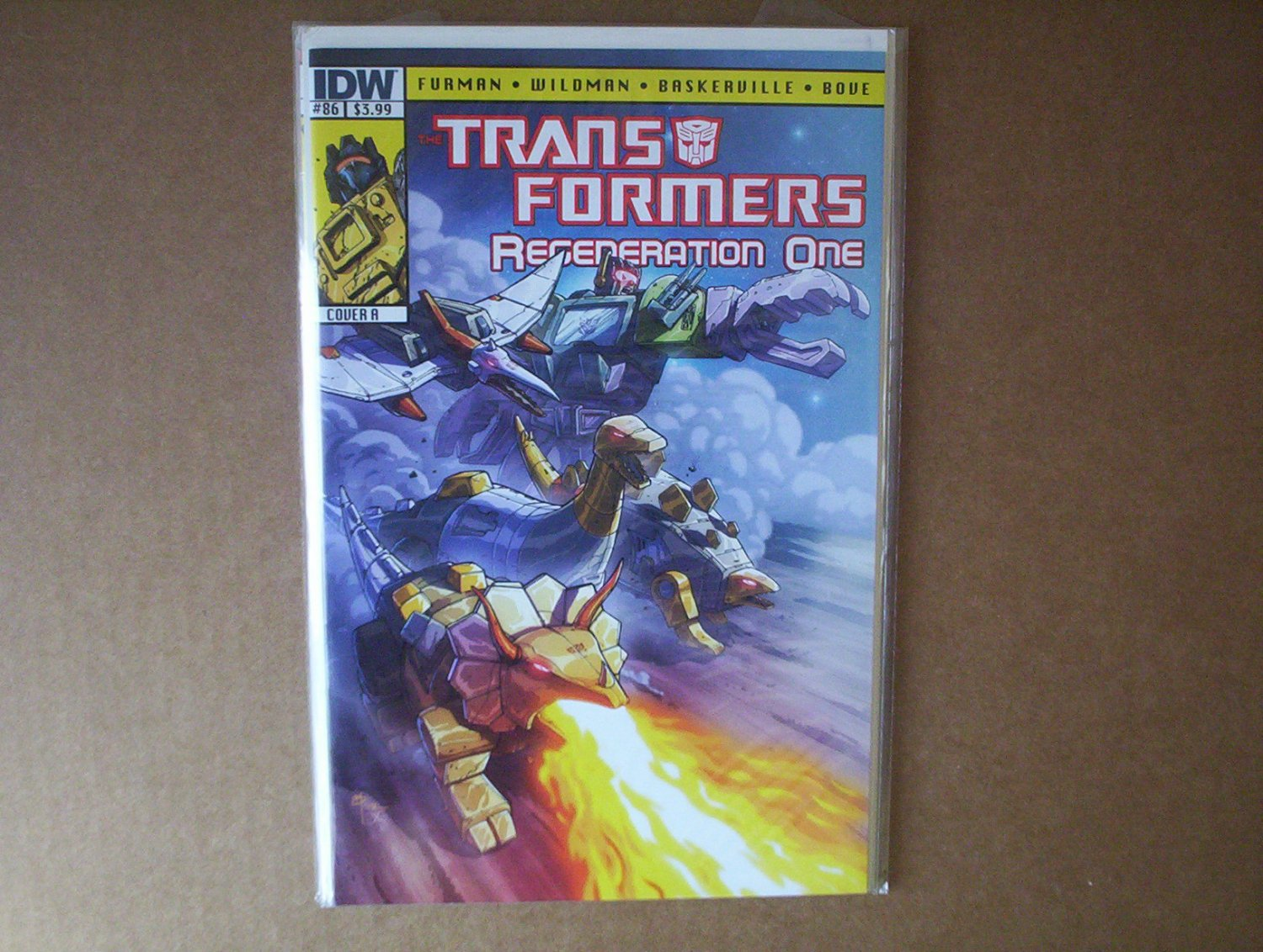 Transformers Regeneration One #86 Cover A