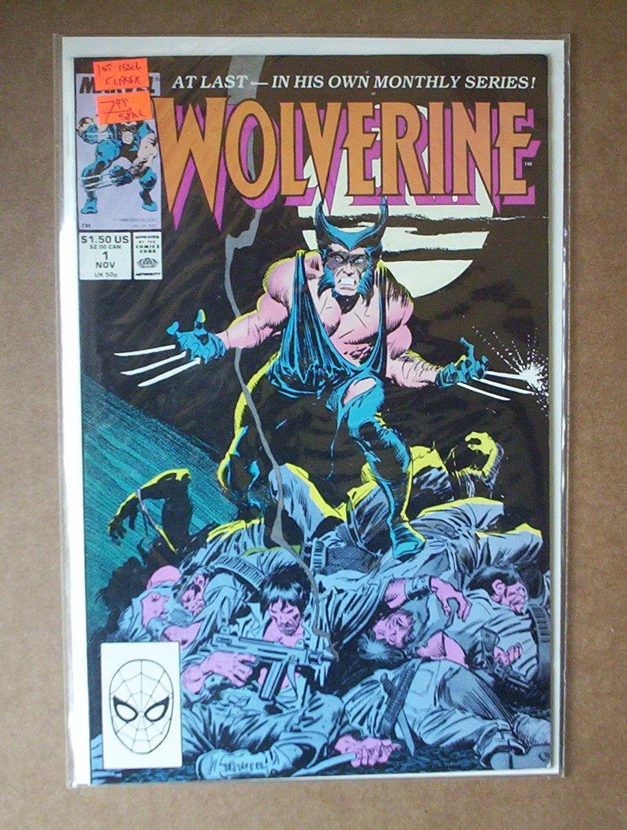 Wolverine #1 Comic (Jan 1, 1988)