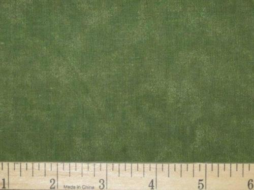 """2 1/2 Yards 108"""" Wide Quilt Backing Loden Green Tonal New on bolt 100% Cotton"""