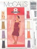 McCall's 3228 8 GREAT LOOKS 1 EASY PATTERN assorted sizes Petitte Slip Dress NIP