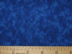 FIVE INCH SQUARES ONE DOZEN BLENDER 0205 OCEAN BLUE MOTTLED SANTEE PRINT WORKS