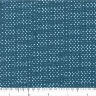 "one yard Pin Dot Polka Dots 45"" 100% Cotton Fabric Navy Blue Quilt apparel B3"