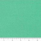 "one yard Pin Dot Polka Dots 45"" 100% Cotton Fabric Southwest Green Quilt"