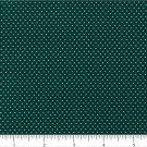 "one yard Pin Dot Polka Dots 45"" 100% Cotton Quilt Fabric Deep Green free ship"