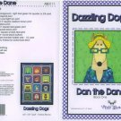 AMY BRADLEY DAZZLING DOGS QUILT KIT DANE FABRIC FUSIBLE EMBELLISHMENTS MORE