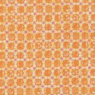 FQ430 BLANK QUILTING DUQUESA II ORANGE GEOMETRIC FABRIC