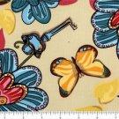 Free Spirit Secret Garden TD 43 Flower Garden by Top Drawer Fabrics Fat Quarter