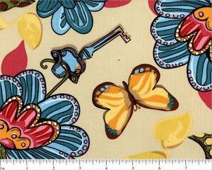 Free Spirit Secret Garden TD 43 Flower Garden by Top Drawer Fabrics Free Ship