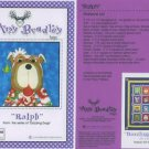 AMY BRADLEY DAZZLING DOGS RALPH QUILT PATTERN only applique