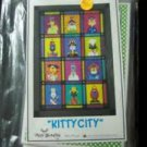 AMY BRADLEY DESIGNS Kitty City ALL 12 Quilt Block of the Month applique kit