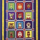 AMY BRADLEY DAZZLING DOGS ALL 12 DOGS QUILT KIT FUSIBLE EMBELLISHMENTS MORE