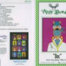 AMY BRADLEY DESIGNS Kitty City Doc Quilt Block Pattern only applique