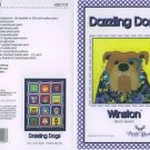 AMY BRADLEY DAZZLING DOGS WINSTON QUILT KIT FABRIC FUSIBLE EMBELLISHMENTS MORE