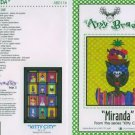 AMY BRADLEY Kitty City MIRANDA Quilt Block kit fabric fusible embellishments